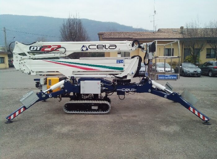 CELA DT22 Spyder Franchini Service