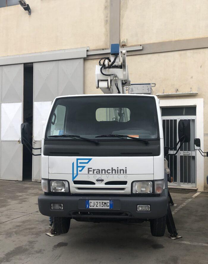 Piattaforma Aerea CTE Z14 Sardegna